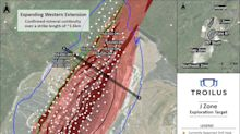 Troilus Drills 4.72 g/t AuEq Over 7 Metres and 22.51 g/t AuEq Over 1 Metre Within a Broader Intersection of 1.57 g/t Over 31 Metres in the J Zone