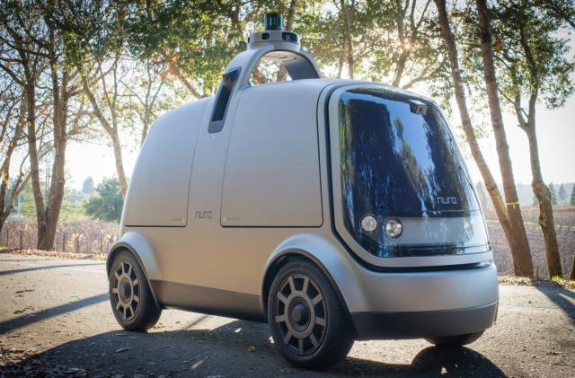 Kroger teams with startup Nuro for driverless grocery delivery