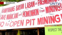 President Duterte maintains bans on open-pit mining in the country