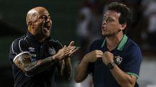 Qual foi o aproveitamento dos principais treinadores do Brasil no período de Jesus no Flamengo?