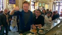 Conan makes a fool of himself as a tourist in Italy