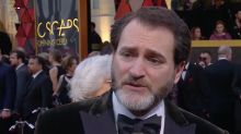 Michael Stuhlbarg takes little credit for that tearjerking heart-to-heart at the end of 'Call Me by Your Name'