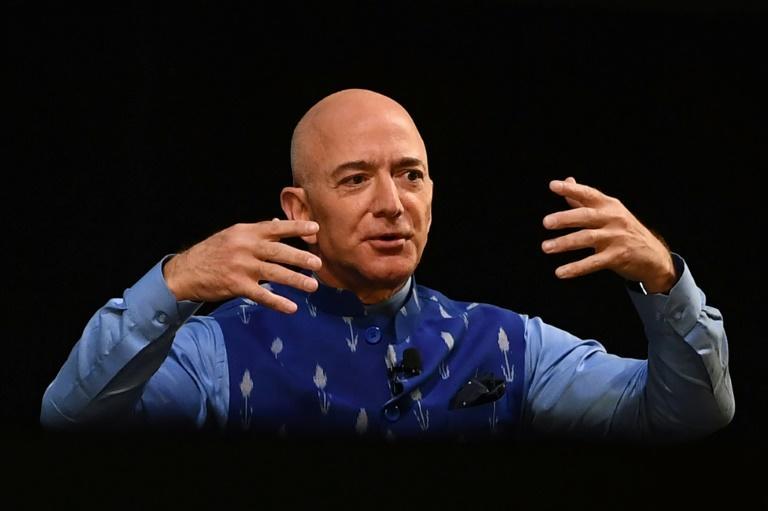 Amazon CEO Jeff Bezos will paint the online giant as an example of US entrepreneurship, while accepting a need for scrutiny