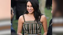 Meghan recycles another dress for Youth Reception in South Africa with Prince Harry