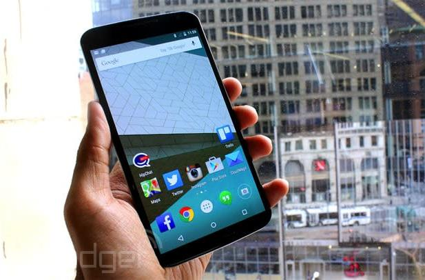 Google's Nexus 6 finally gets priced in the UK: £499 for 32GB, £549 for 64GB