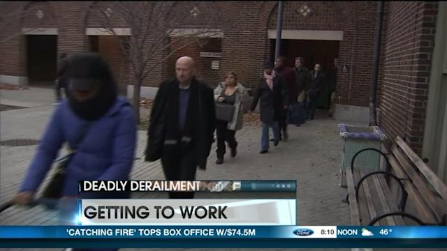 Commuters Dealing With Rough Trip To Big Apple
