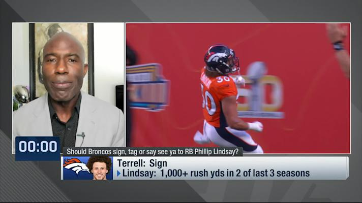 Terrell Davis: How Broncos should handle Lindsay's contract situation