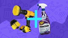 Hate cleaning? These dynamic duos will make quick work of your biggest messes