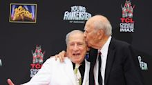 Best pals Mel Brooks, 93, and Carl Reiner, 98, coping with social distancing using TV