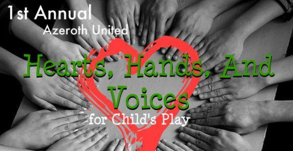 Azeroth United announces Hearts, Hands and Voices charity drive