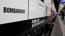 Bombardier stock drops after reporting quarterly loss and struggles at rail division