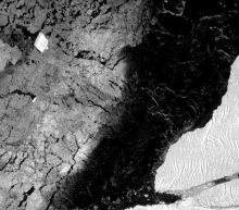 Radar images capture new Antarctic mega-iceberg