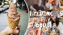 Eisverkäufer stellt brutale Regel für Influencer auf