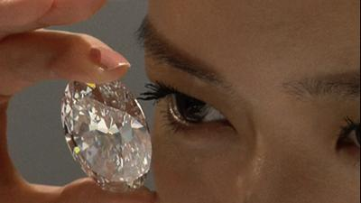 Two Rare Diamonds Sparkle at Auction Preview