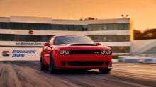 Dodge announces world's fastest-accelerating production car