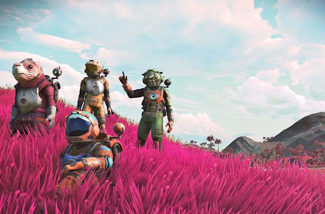 'No Man's Sky' is getting a spooky update next week