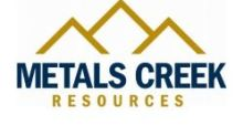 Metals Creek Options Flint Lake to Manning Ventures and Amends Terms of Squid East Option Agreement