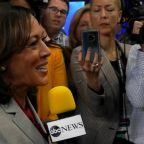Kamala Harris talks abuse of power post-Democratic debate
