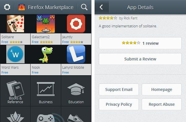 Firefox OS Marketplace leaks in current form, shows shopping Gecko-style