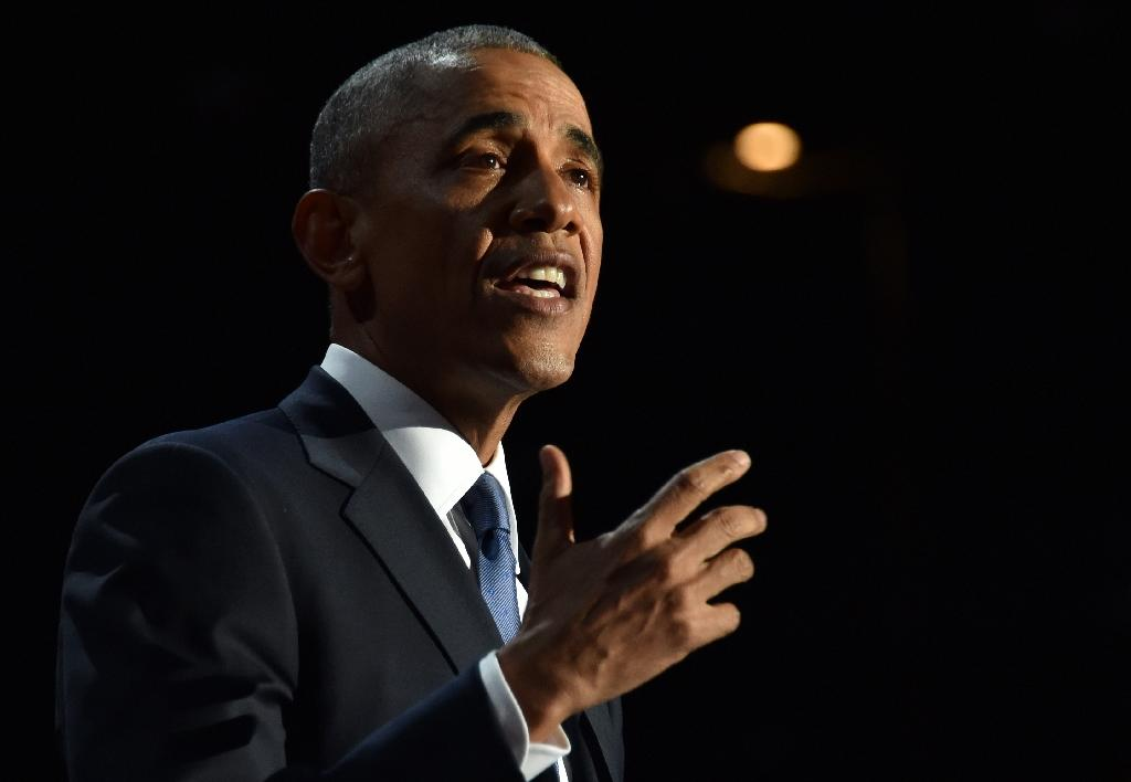 The latest poll by CNN/ORC, found that 60 percent of Americans approve of Barack Obama's performance in office, his best score since June 2009 (AFP Photo/Nicholas Kamm )