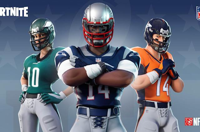 'Fortnite' is adding NFL team jerseys, emotes and more
