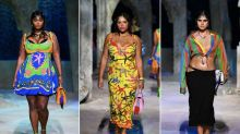 Why the debut of plus-size models in Versace's runway show is something to celebrate: 'This was a declaration!'