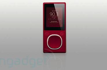 Zune 4 / 8 won't include video out functionality