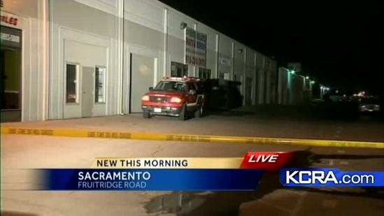 Officials: Auto repair shop fire might be arson
