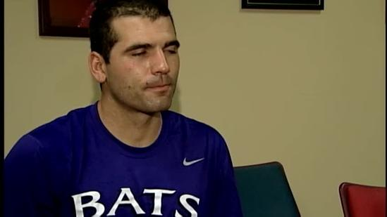 Joey Votto talks about Bats game, return to Reds