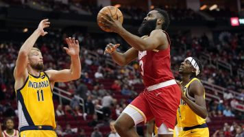 Harden outscores Pacers starters by himself