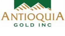 Antioquia Gold Cisneros Operations Update