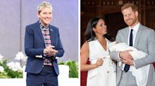 Ellen DeGeneres says Archie 'looks just like Harry' after visiting Duke and Duchess of Sussex