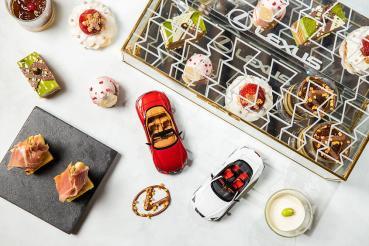 Lexus攜手晶華酒店推出聯名午茶組、結合品牌造車工藝精神打造甜品饗宴!