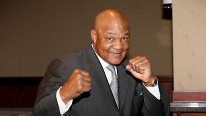 George Foreman on protesters: 'Sore losers'