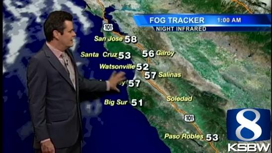 Get Your Friday KSBW Weather Forecast 9.20.13