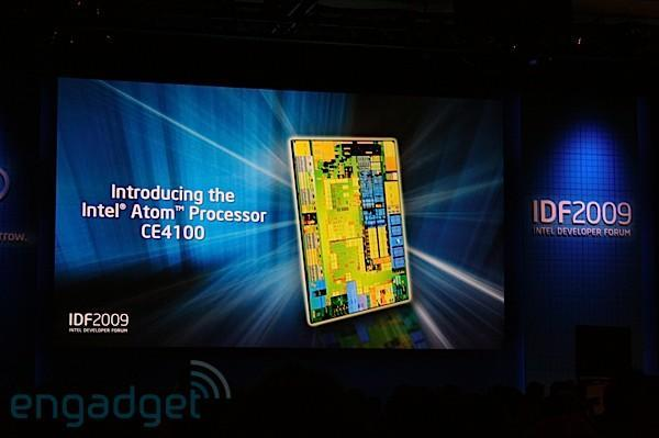 Intel announces Atom CE4100 for insanely powerful cable boxes and Blu-ray players