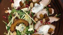 Wolfgang Puck's autumn apple salad