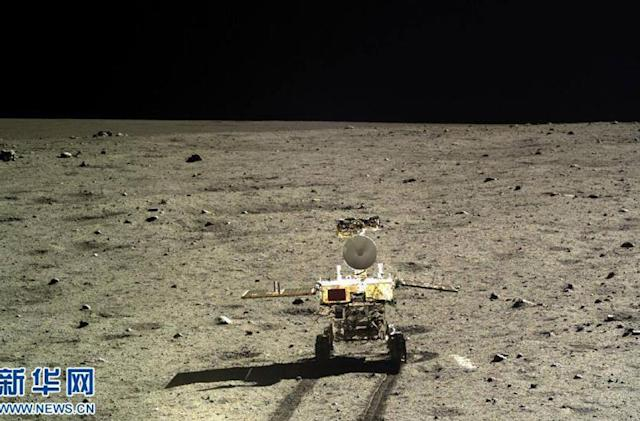 China's moon rover proves the moon has different rocks (update)