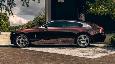 Rolls-Royce Wraith變身而成的獵跑竟然這麼美!