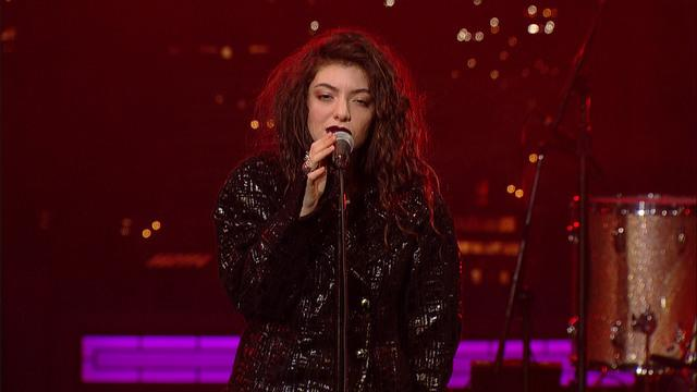 Live On Letterman - Lorde: Bravado