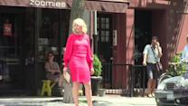 Cameron Diaz is a Lady in Red while Filming The Other Woman