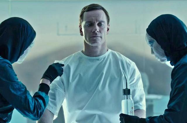 Watch how 'Alien: Covenant's' android is born