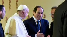 Pope Francis pleads for 'holy' peace during Egypt visit