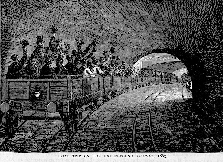 Image result for london's underground railway opened