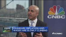 Neel Kashkari: Flattening yield curve shows a 'sign of ca...