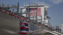 Matson christens newest containership, largest ever built in the U.S.