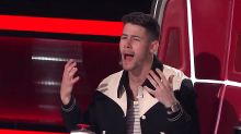 Nick Jonas begs his 'ex' to come back to him on 'The Voice'