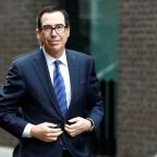 U.S. Treasury chief Mnuchin says optimistic about U.S.-UK trade deal