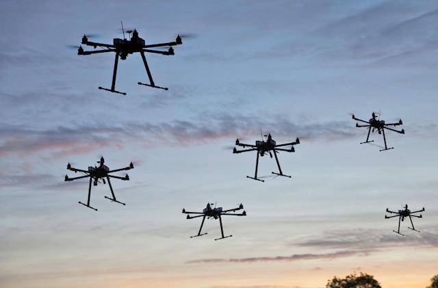 Drone sales doubled in 2016, proving they're not a novelty