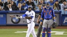 Yasiel Puig admired a home run too long and the Mets had a cow about it